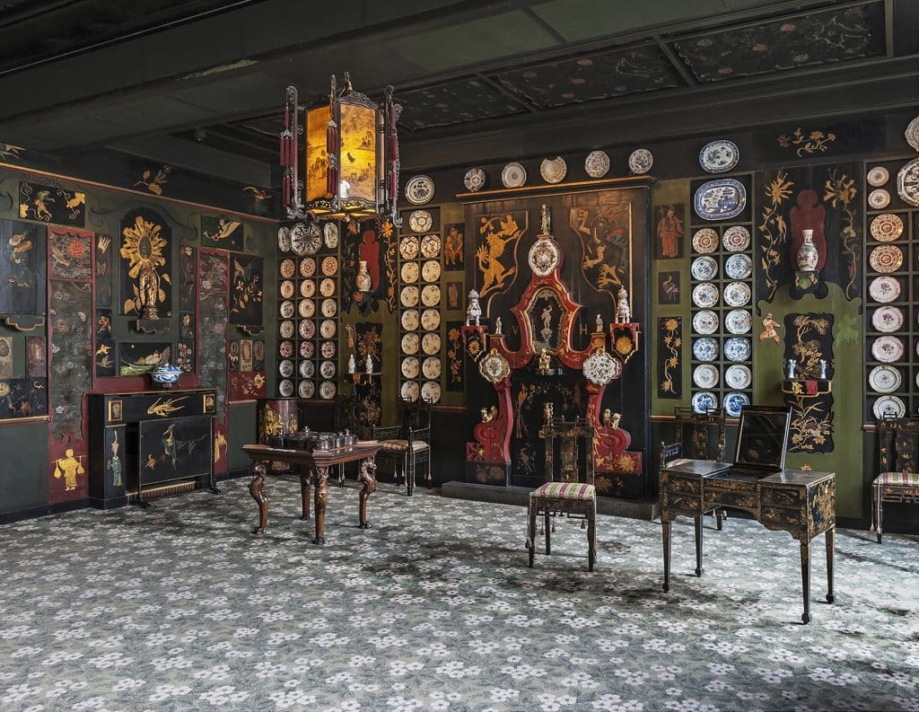 The Chinese Lounge inside the Paris apartment of Victor Hugo