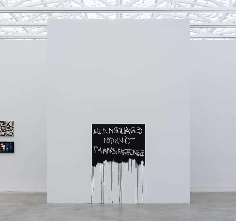 'Blah, Blah, Blah.' Mel Bochner Tells Us about a Very Cool Museum Show He Curated