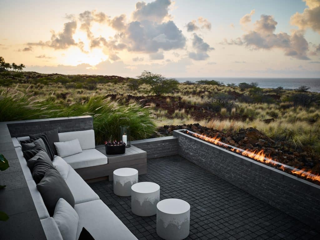 Hawaii fire pit by Nicole Hollis