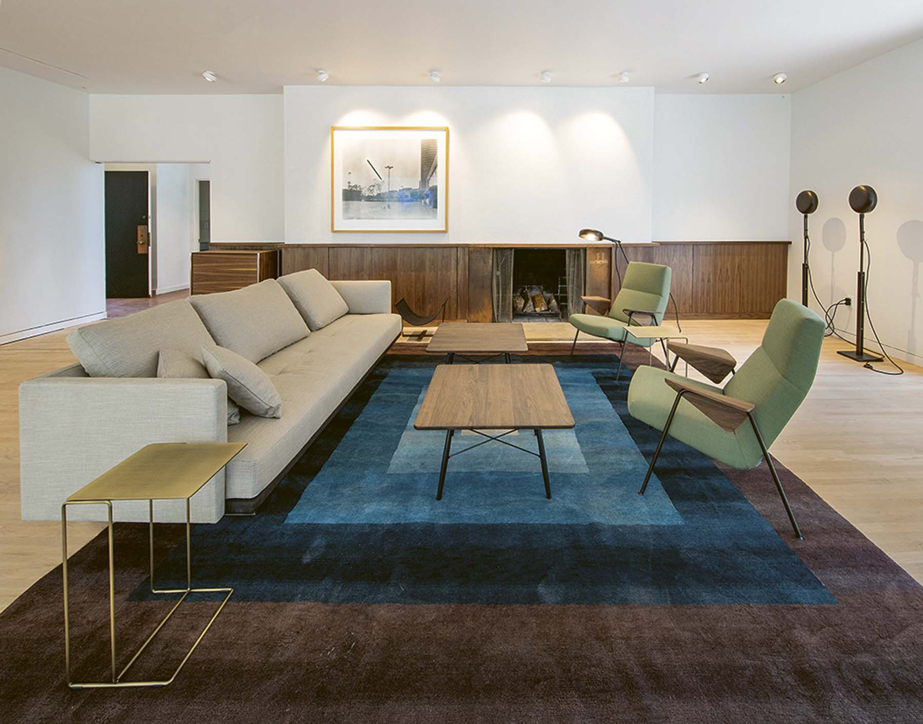 Walter Knoll furniture in the Thomas Mann House