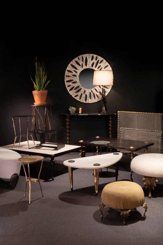 Franck Evennou furniture at Bernd Goeckler