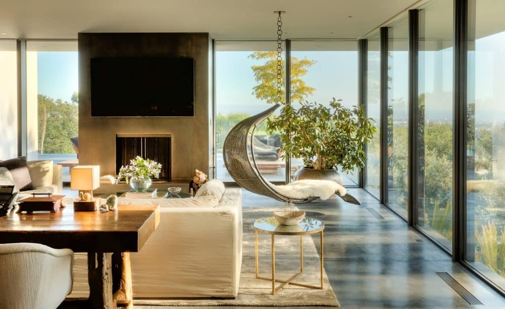 Jennifer Aniston's mid-century home in Bel Air, designed by Stephen Shadley