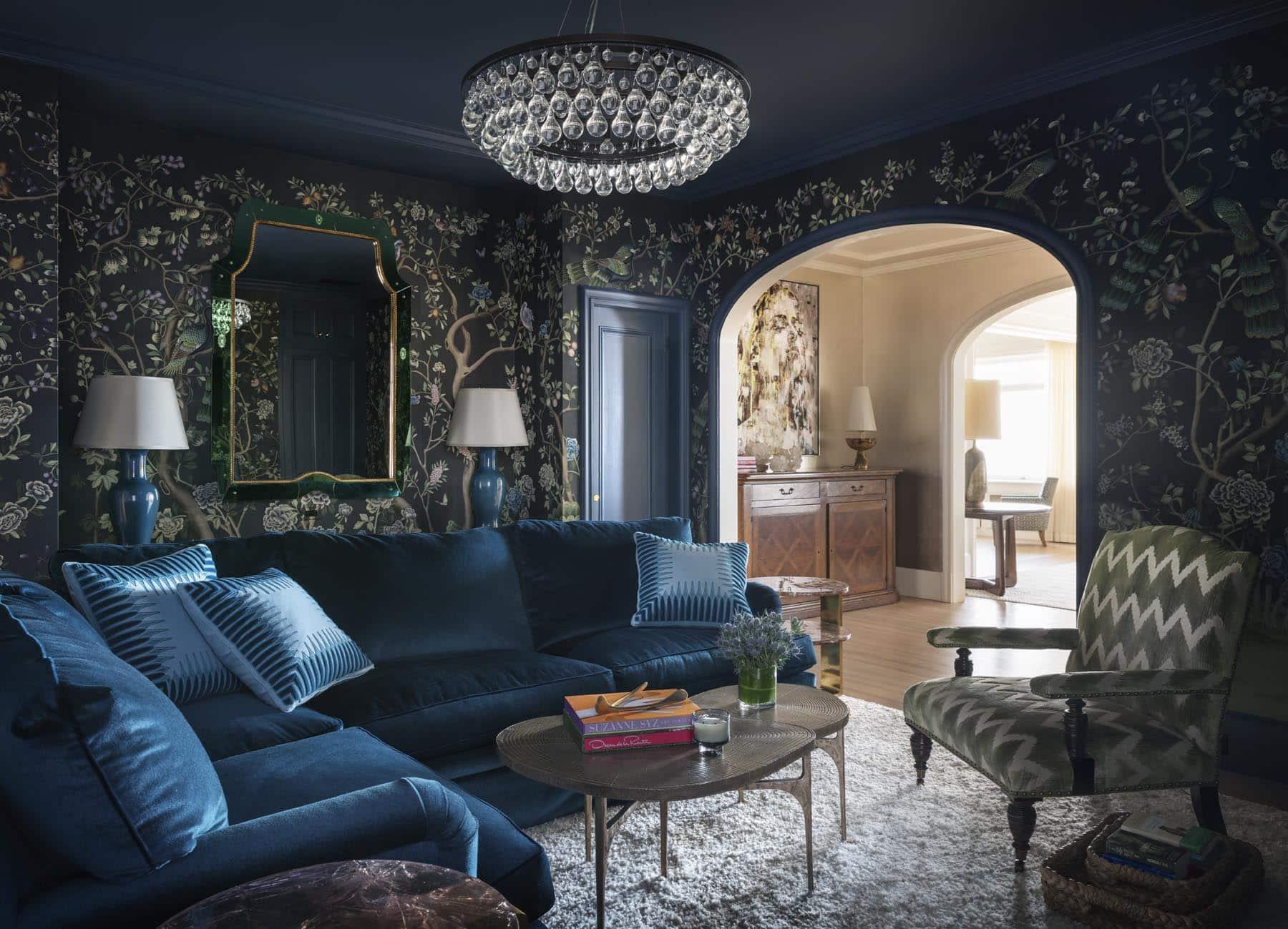 Alison Pickart blue living room