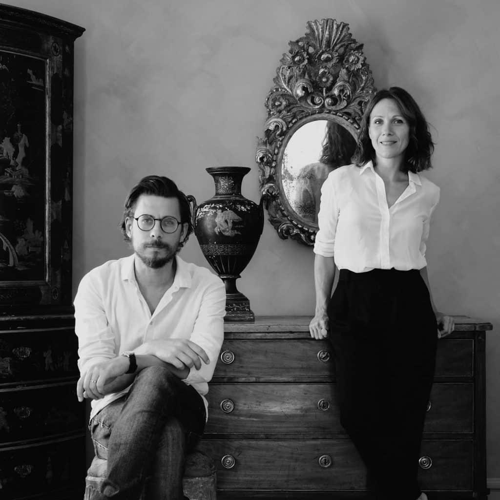 Daniel and Cristina Larsson, of D.Larsson Interior and Antikhande