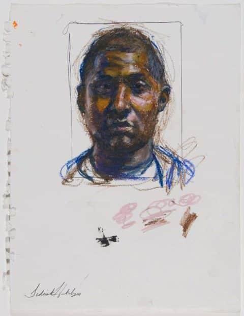 Sedrick Huckaby Paintings, Drawings and Lithographs