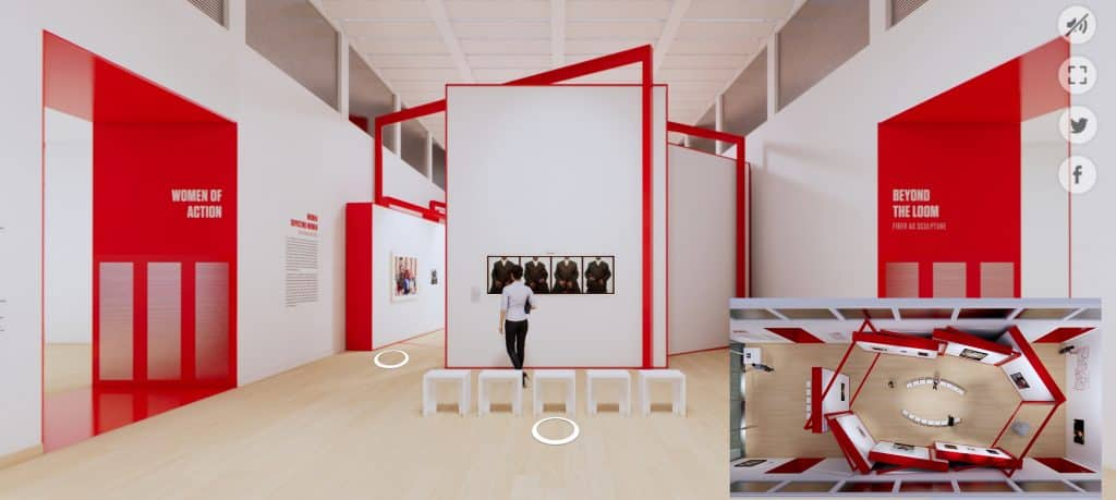 A virtual tour of Women Take the Floor at the Museum of Fine Arts, Boston.