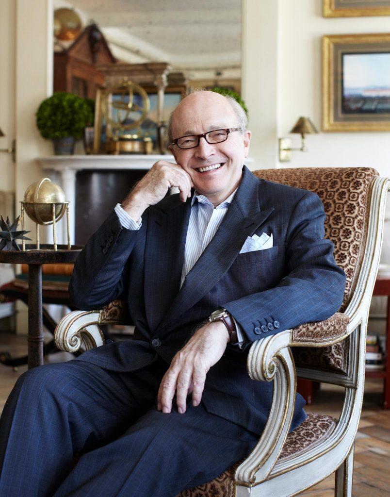 David Easton in his Manhattan apartment in 2012