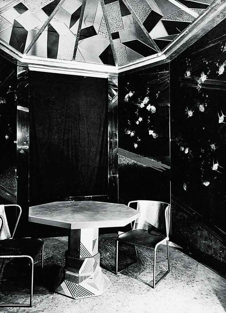 The San Francisco breakfast room of Charles Templeton Crocker, designed by Jean Dunand