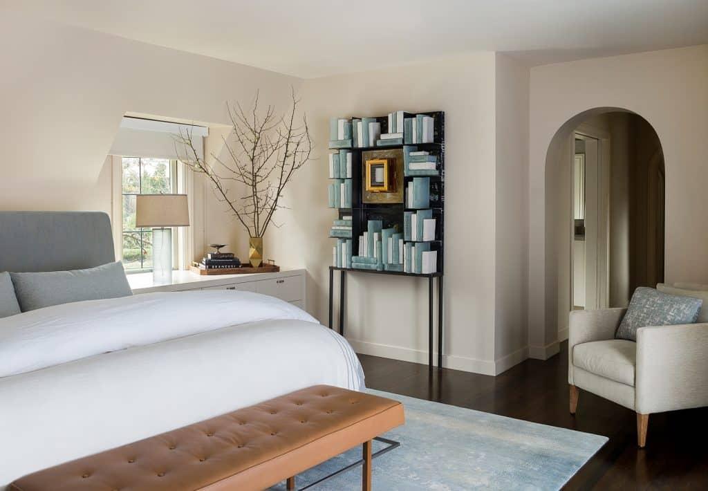 Seattle Interior Designer Charlie Hellstern Washington Park house primary bedroom