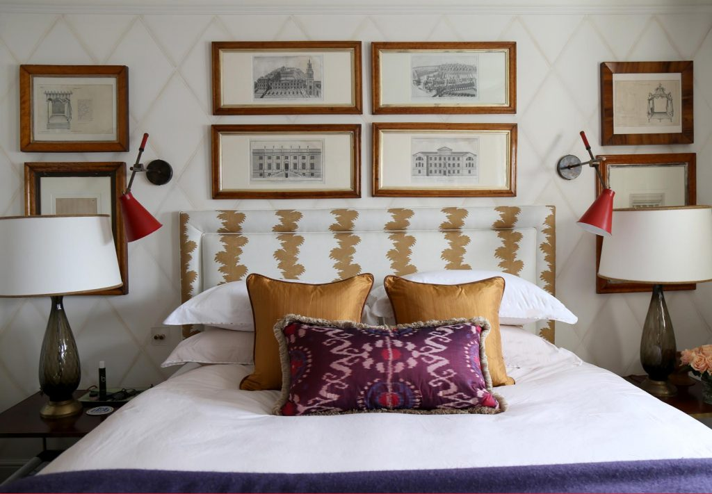 Paolo Moschino Nicholas Haslam Ltd. West London townhouse bedroom