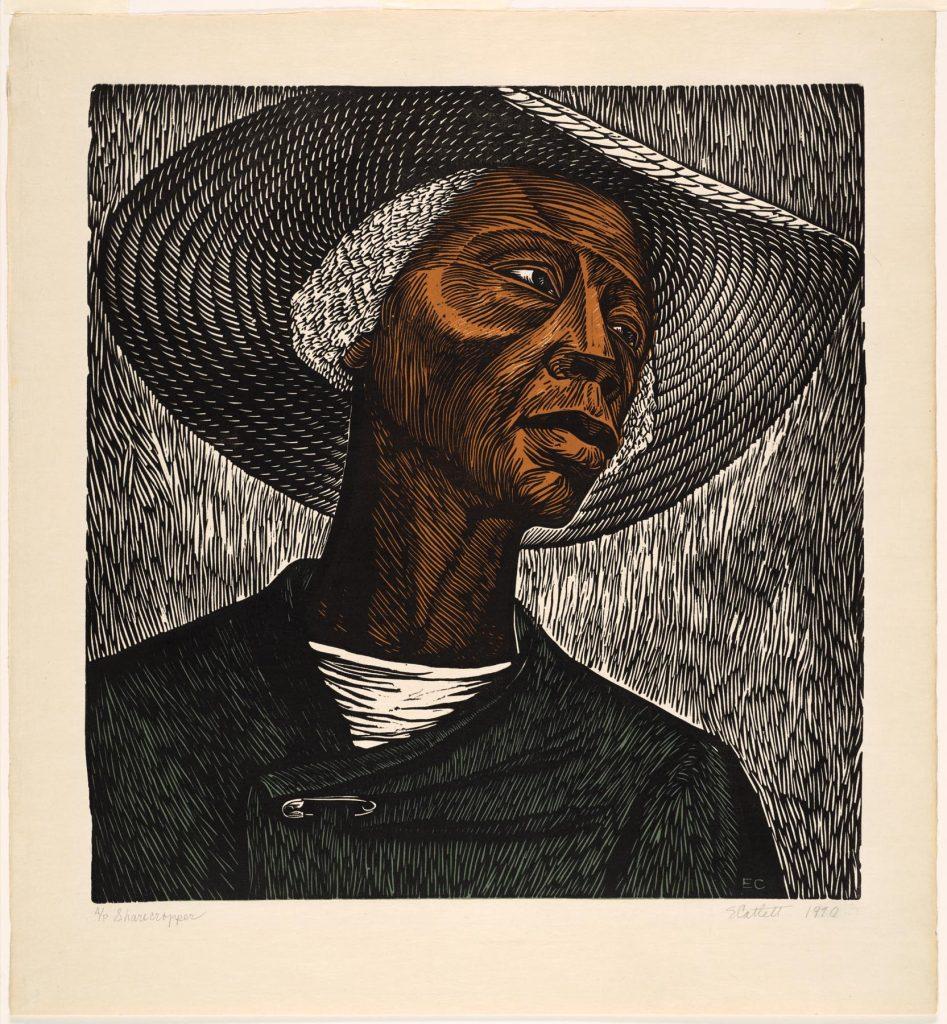 Sharecropper, 1952, by Elizabeth Catlett