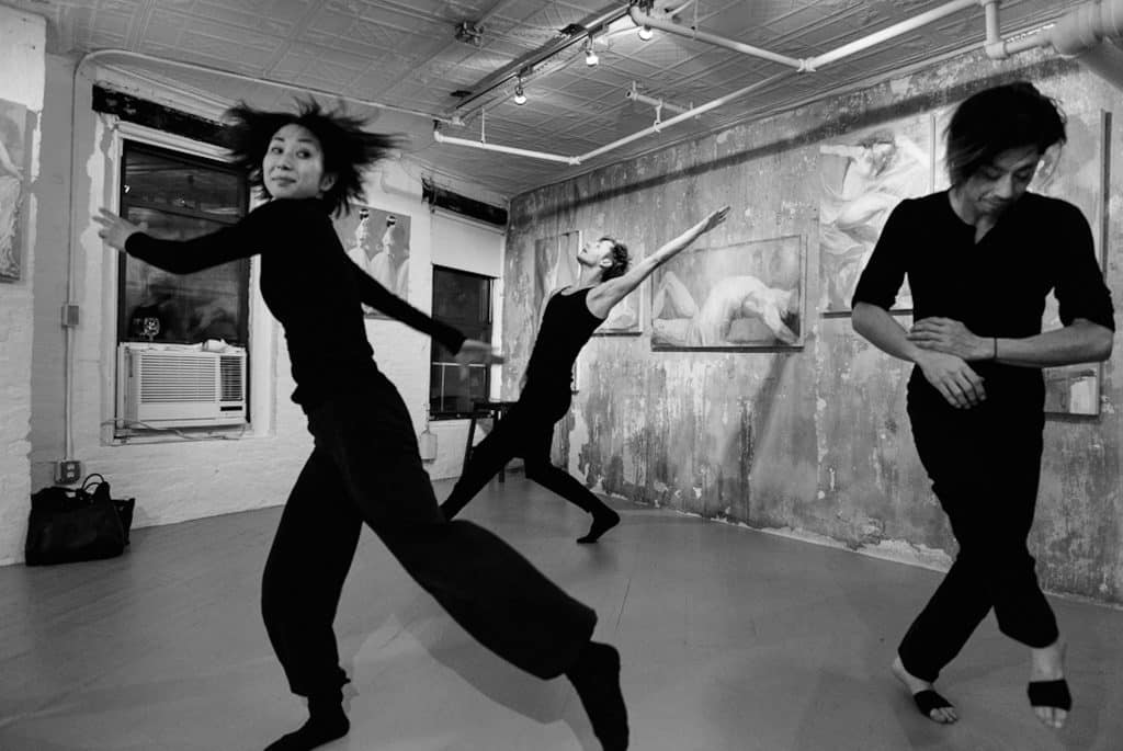 Dance company Jennifer Meuller/The Works performs at Ivy Brown Gallery in 2018