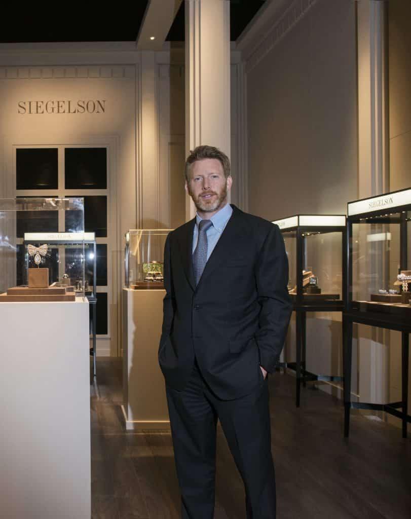 Jewelry dealer Lee Siegelson