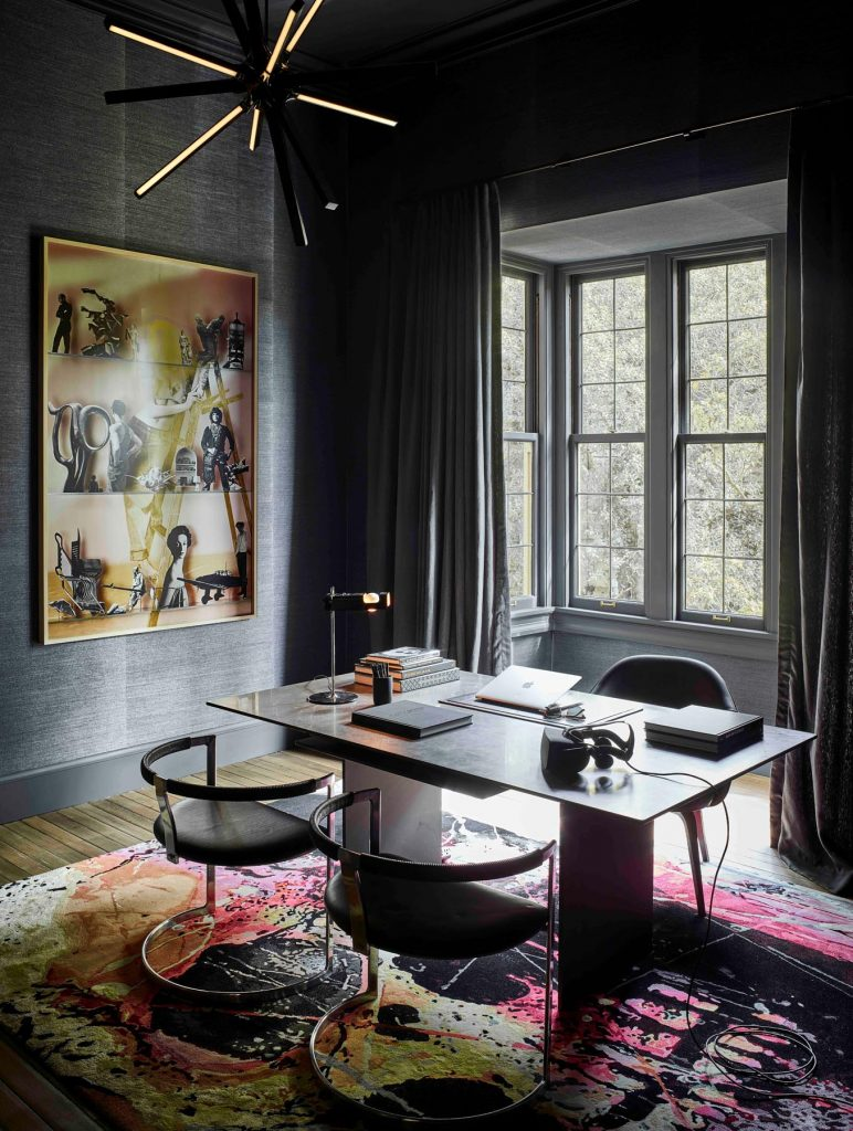 Nicole Hollis study home office Russian Hill San Francisco California