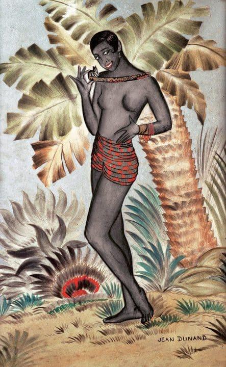 A Jean Dunand work depicting Josephine Baker