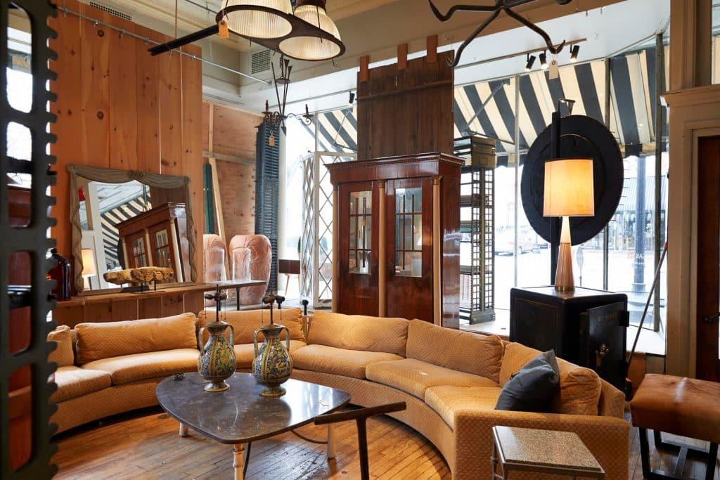 Regan & Smith Hudson New York shop store gallery antiques dealer