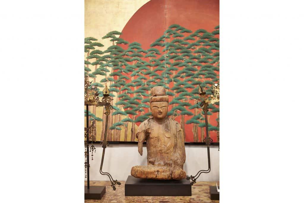 Naga Antiques Asia Asian Japan Japanese Hudson New York store shop gallery antiques dealer screen