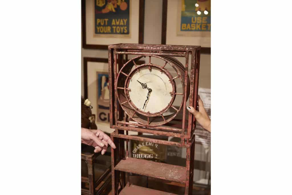 Benjamin Wilson Antiques Hudson New York store shop gallery garden clock