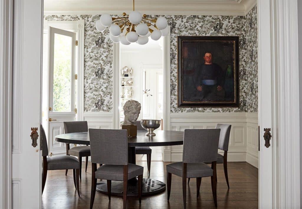 Jennifer Vaughn Miller San Francisco Pacific Heights Victorian dining room