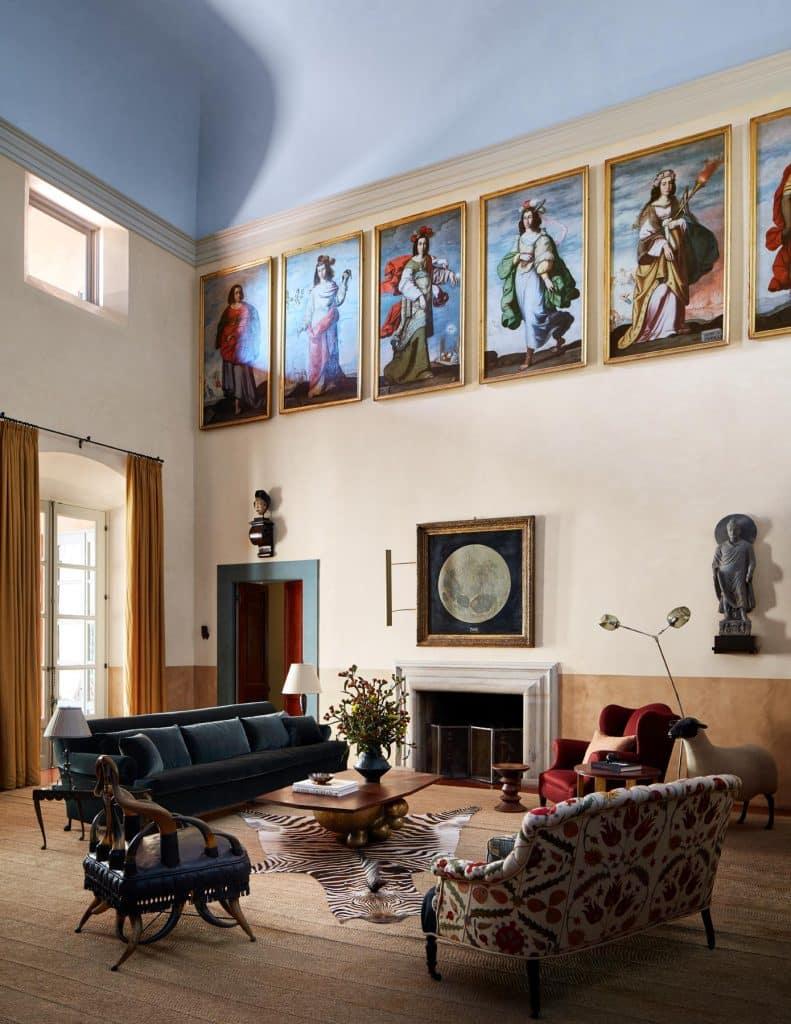 Northern California Pamela Shamshiri Commune Design living room house