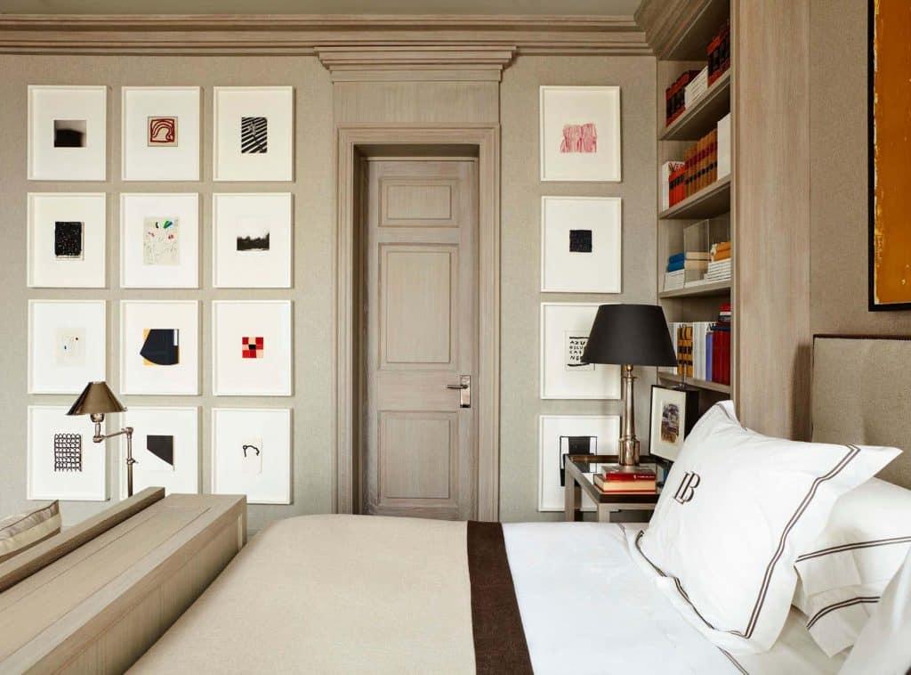 Luis Bustamante Madrid Spain bedroom