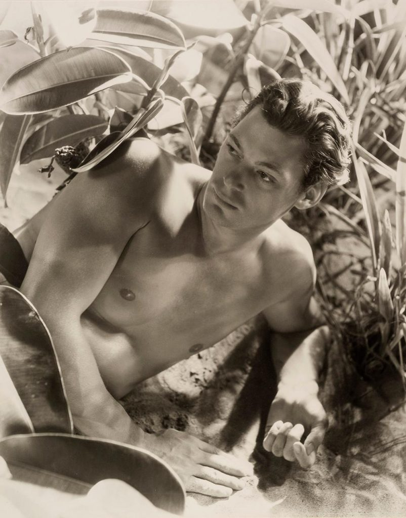 British society photographer Cecil Beaton Johnny Weissmuller Tarzan portrait Huxley-Parlour gallery