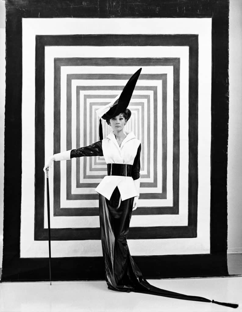 British society photographer Cecil Beaton State Hermitage Museum exhibition Cecil Beaton: Celebrating Celebrity Audrey Hepburn My Fair Lady Ascot race portrait