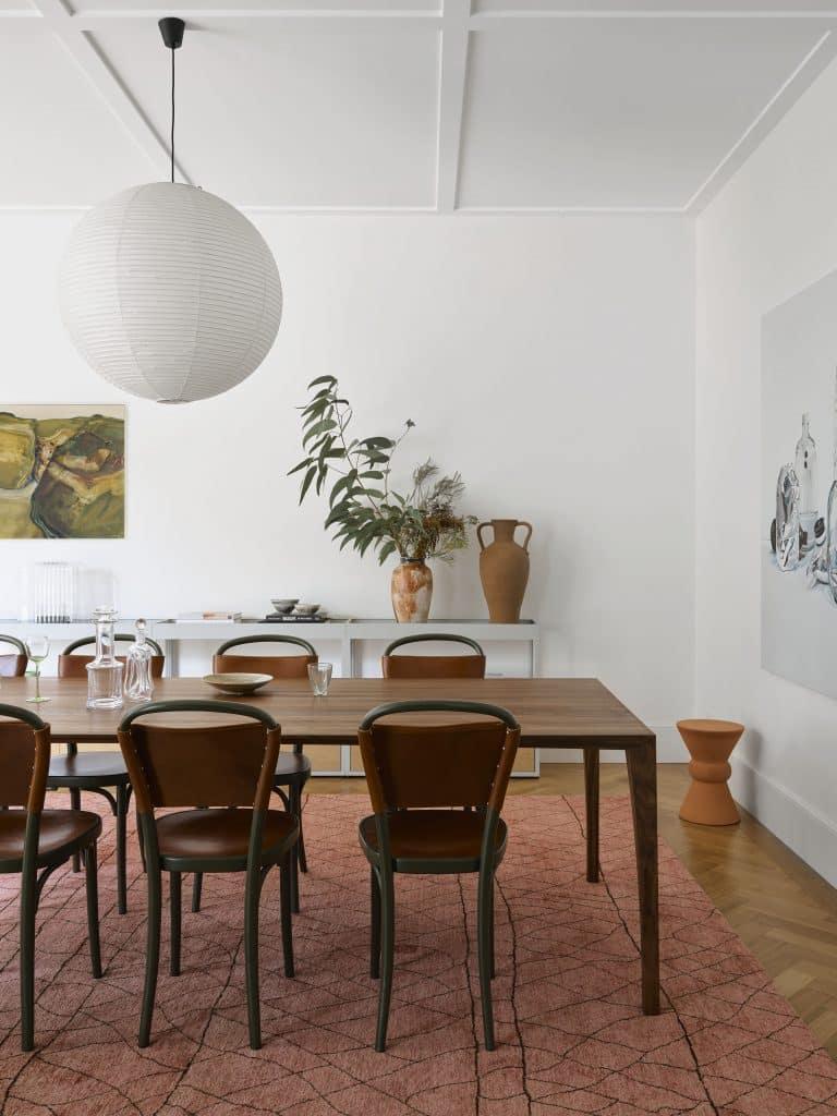 Sarah-Jane Pyke Juliette Arent Arent&Pyke Australian interior designers dining room house Queens Park Sydney