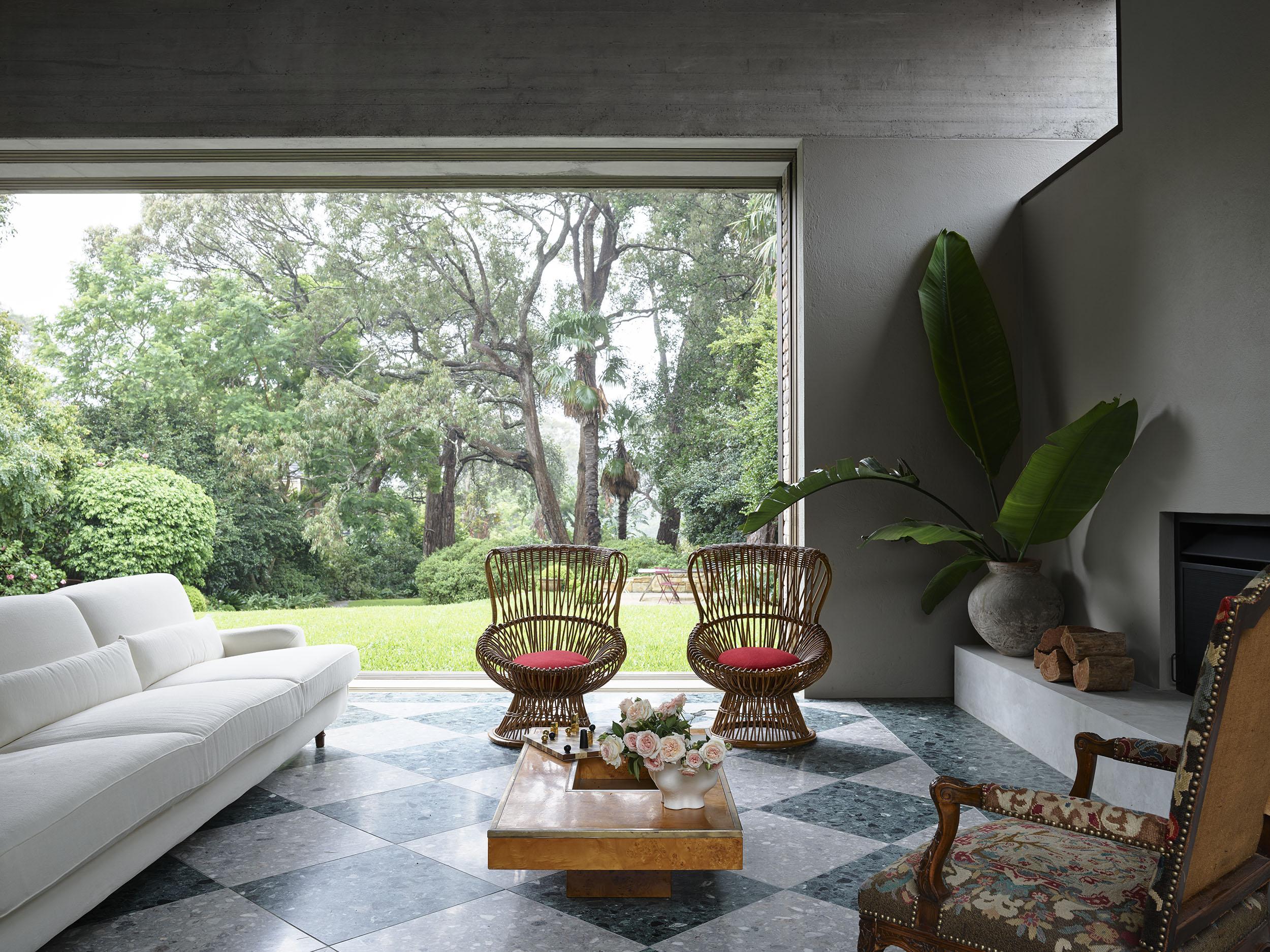 Sarah-Jane Pyke Juliette Arent Arent&Pyke Australian interior designers Garden House garden room