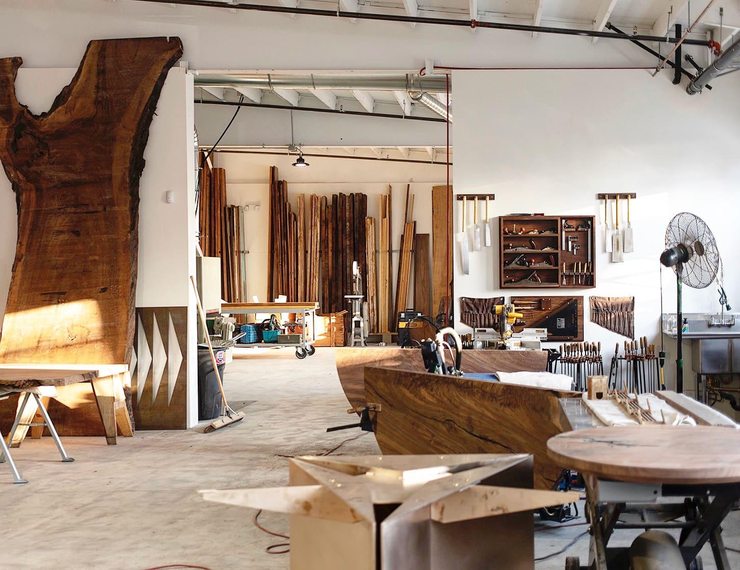 The new Firewood Collective space in Santa Monica
