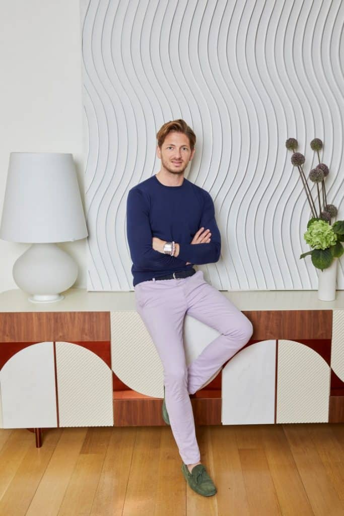 Benjamin Frowein, president of New York–based design company Schumacher