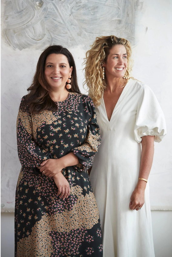 Sarah-Jane Pyke Juliette Arent Arent&Pyke Australian interior designers portrait