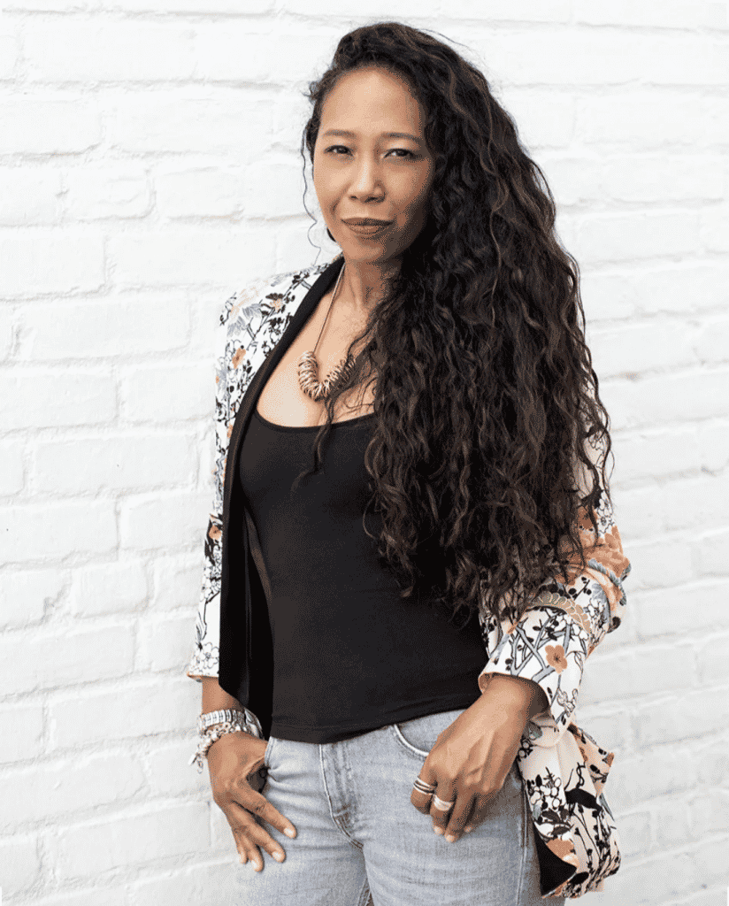 Los Angeles interior designer Linda Hayslett portrait