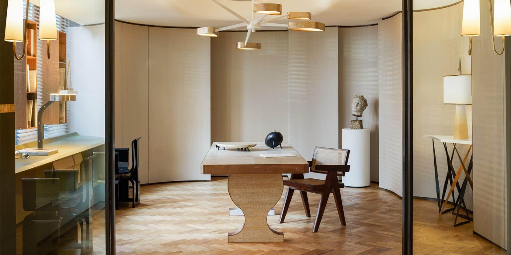 Italian designer Achille Salvagni's London showroom