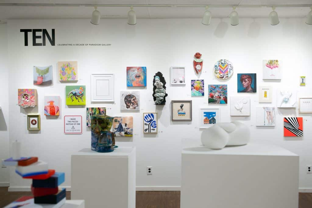 Paradigm Gallery's blowout 10th-anniversary exhibition