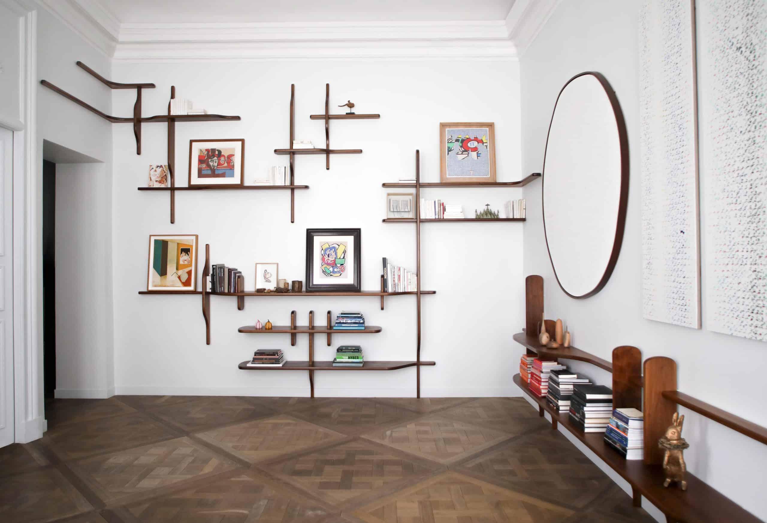 YMER&MALTA's custom Alphabet bookshelf