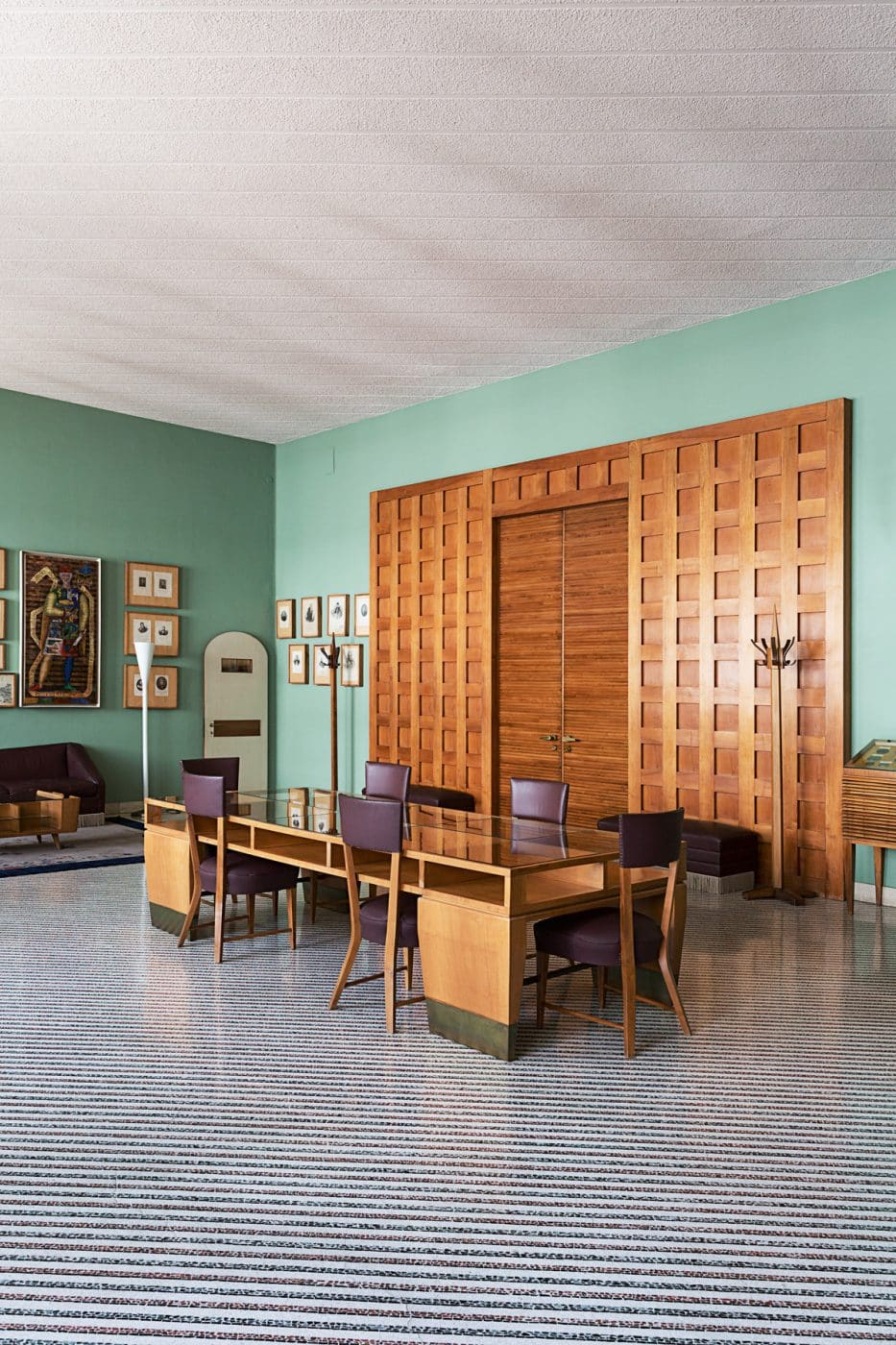 The rector's office at the Palazzo del Bo, as seen in the book Gio Ponti, offered by Taschen