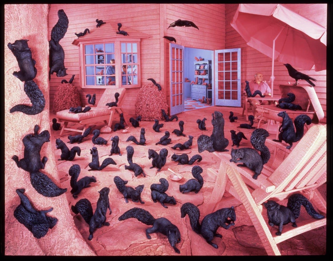Gathering Paradise, 1991, by Sandy Skoglund
