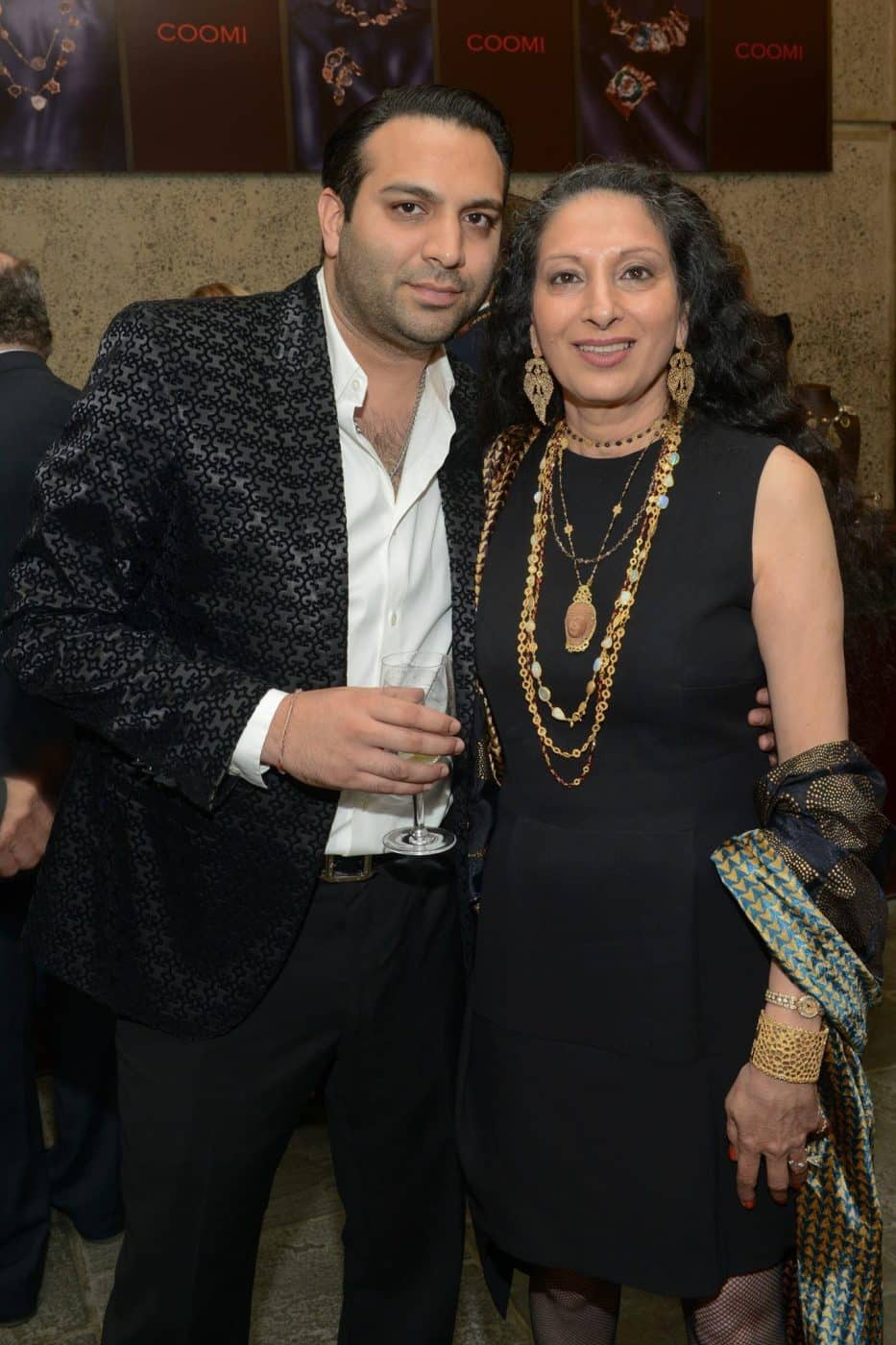 Sahil Bhasin and his mother, Coomi Bhasin