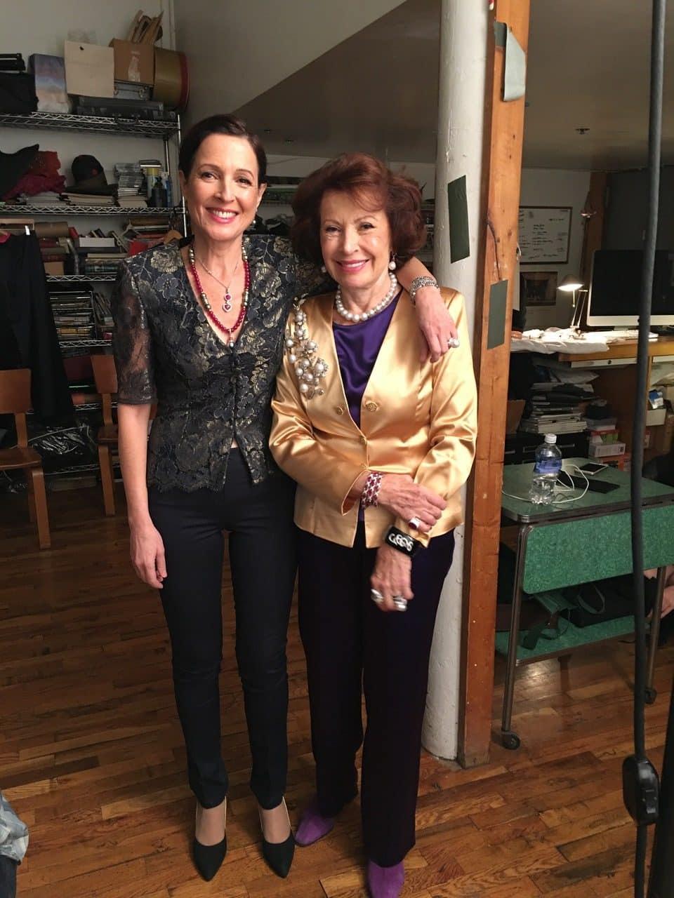 Talila Gafter and her mother, Ella Gafter