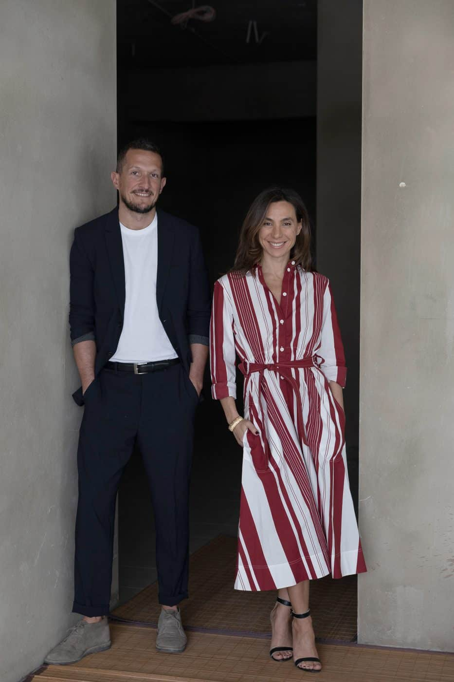 Guillaume Excoffier and Nancy Gabriel, founders of design gallery Gabriel & Guillaume