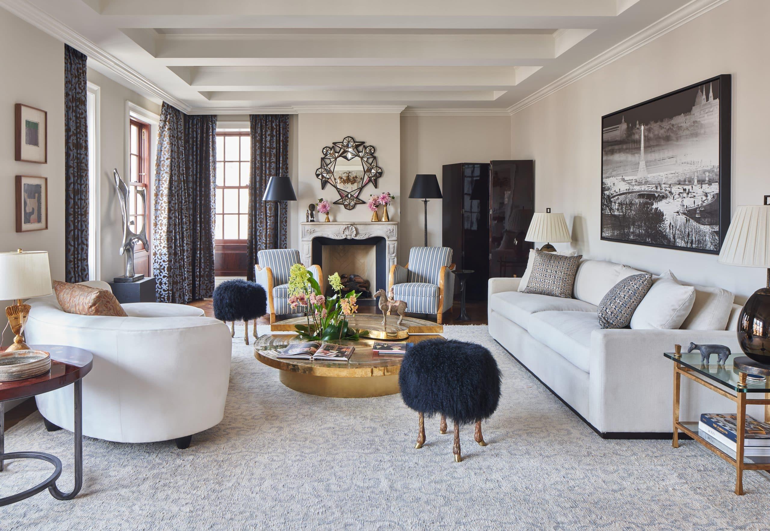 Wesley Moon Park Avenue living room