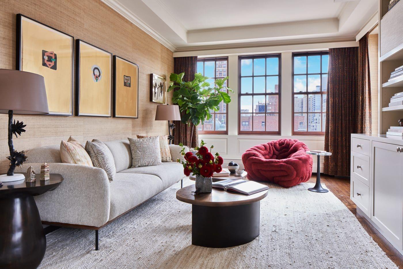 Wesley Moon Park Avenue family room