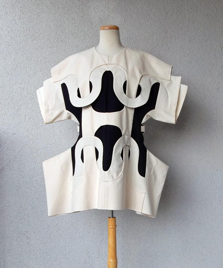 A Comme des Garçons dress from the label's Spring/Summer 2014 collection, offered by Marilyn Glass