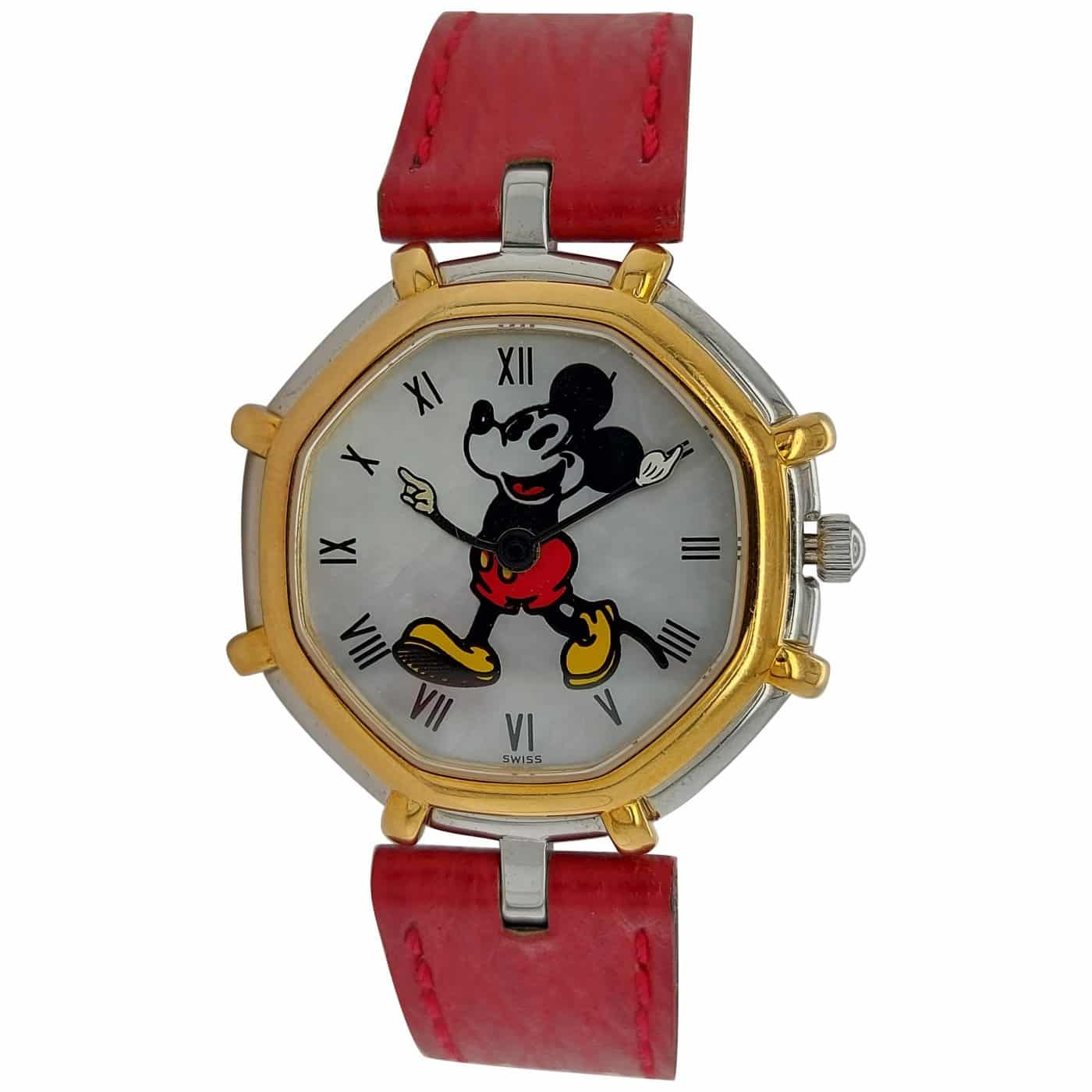 A Mickey Mouse watch designed by Gérald Genta