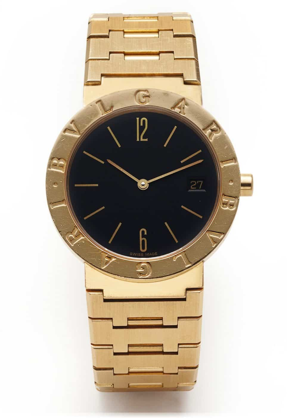The Bulgari Bulgari watch, designed by Gérald Genta