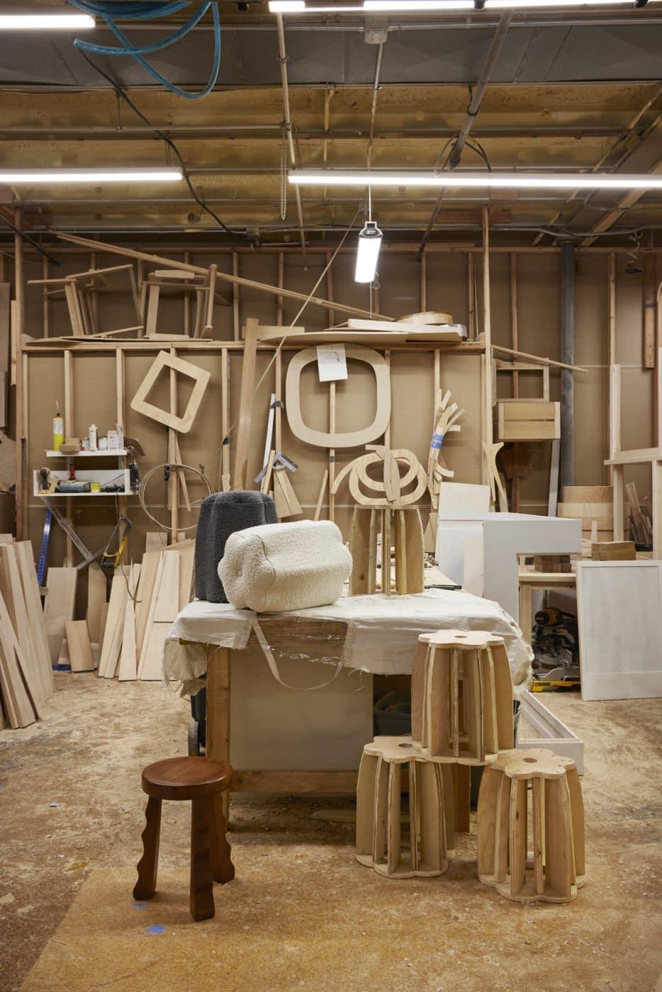 Christian Siriano furniture workshop