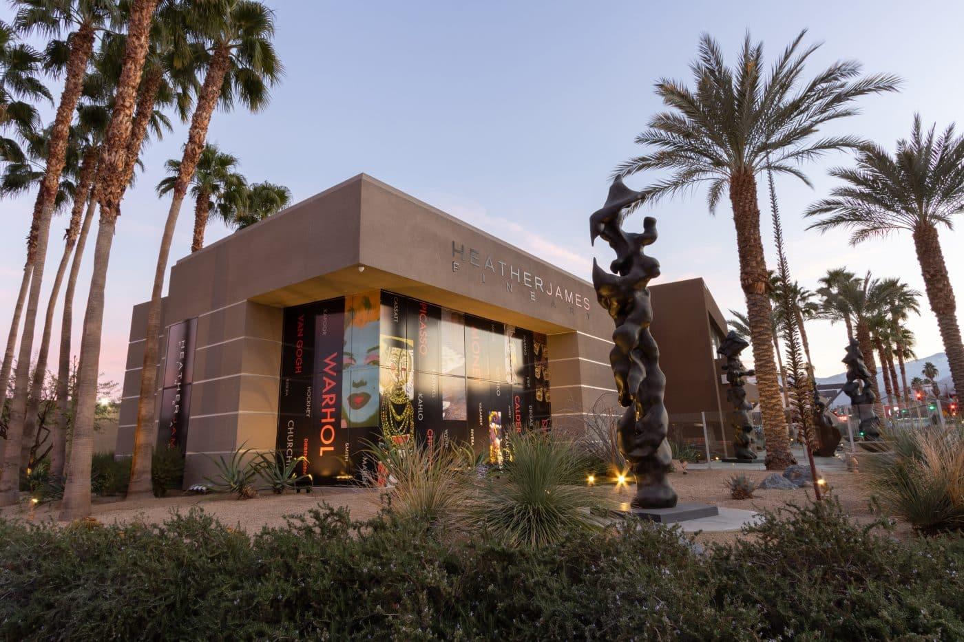 The Palm Desert, California, location of Heather James Fine Art