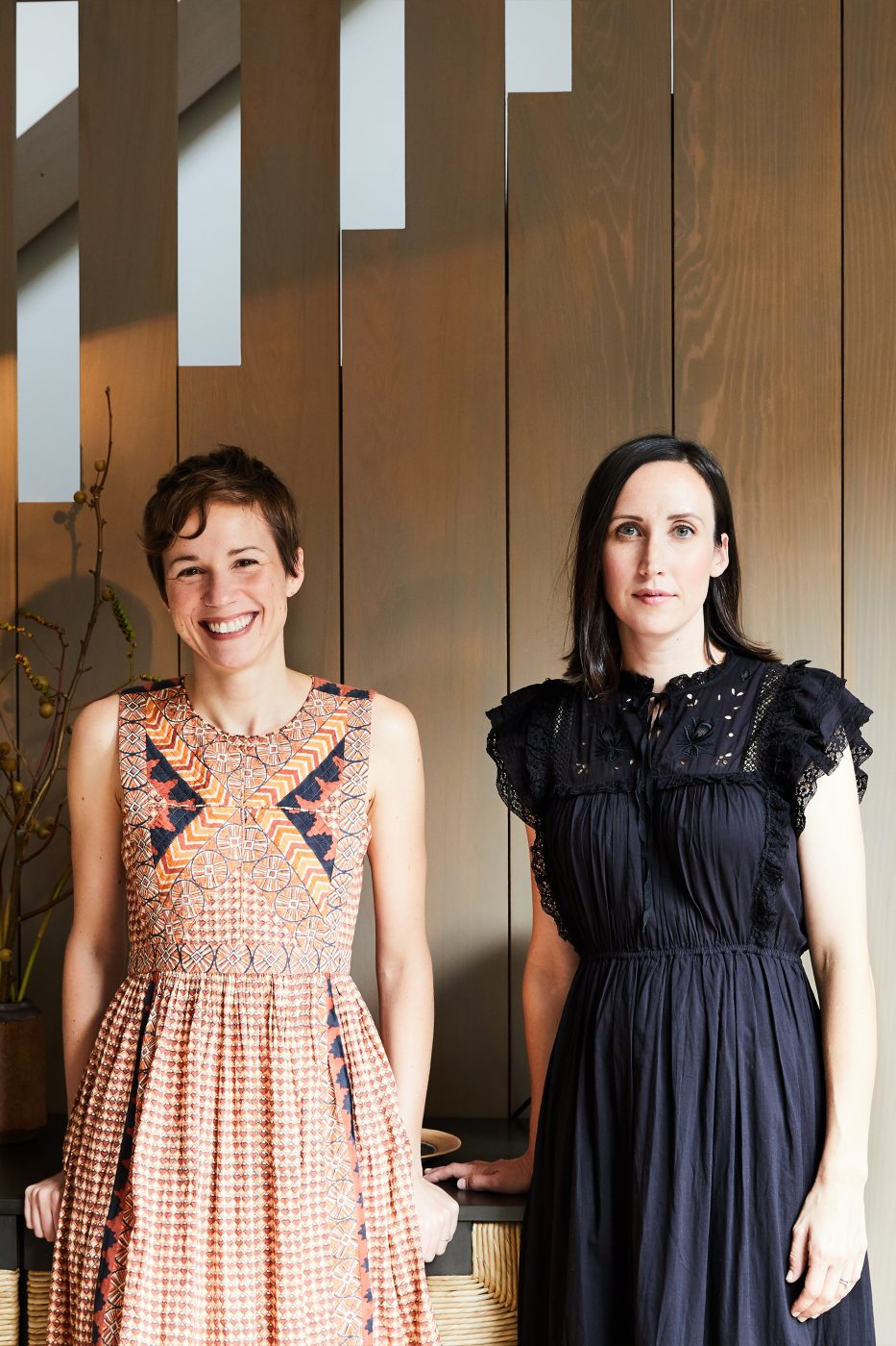 Whitney Parris-Lamb (left) and Amanda Jesse of Brooklyn-based firm JESSE PARRIS-LAMB