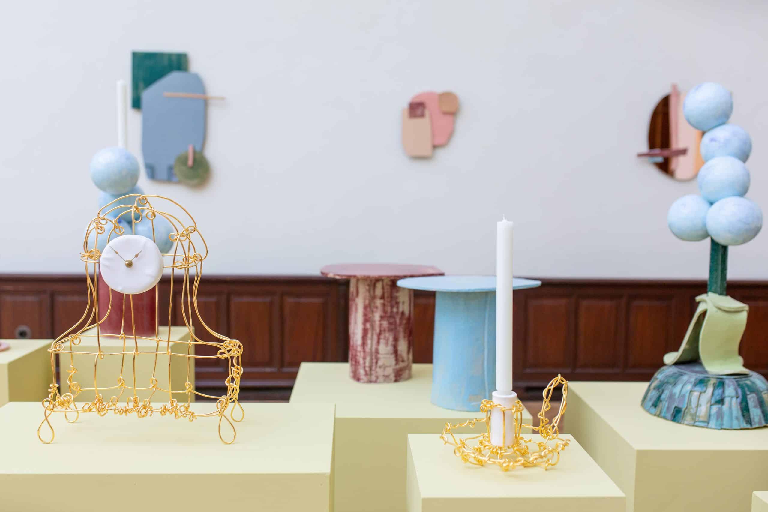 New pieces by Dutch designer KIKI VAN EIJK are presented by SPAZIO NOBILE at the Lempertz action house.